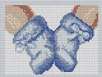 Алмазна вишивка, мозаїка Чарівний діамант З народженням хлопчика! КДІ-0150 20х15 см 10кол Квадратні стрази