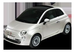 Дефлекторы на боковые стекла (Ветровики) для Fiat (Фиат) 500 2007+