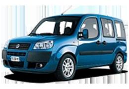 Дефлекторы на боковые стекла (Ветровики) для Fiat (Фиат) Doblo I 2000-2010
