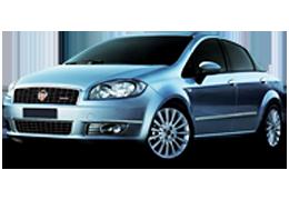 Дефлекторы на боковые стекла (Ветровики) для Fiat (Фиат) Linea (323) 2007-2015