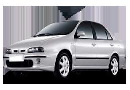 Дефлекторы на боковые стекла (Ветровики) для Fiat (Фиат) Marea 1996-2007