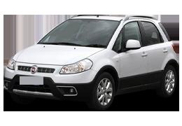 Дефлекторы на боковые стекла (Ветровики) для Fiat (Фиат) Sedici 2005-2014