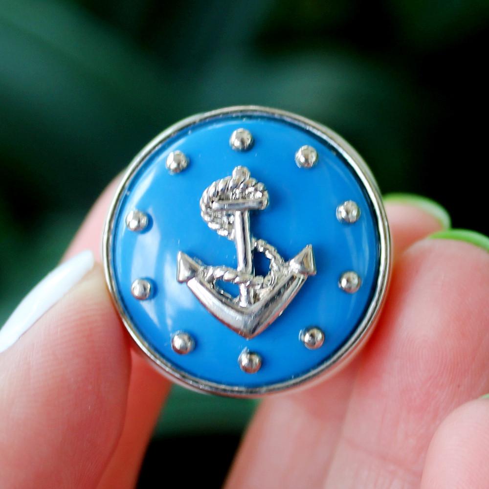 Перстень на морскую тематику