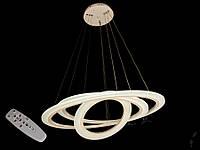 Современная светодиодная люстра с диммером, 150W, фото 1