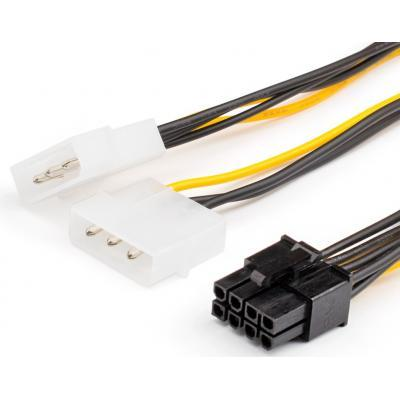 Кабель питания Video power 8pin to 2molex Atcom (8604)