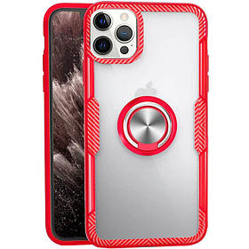 """TPU + PC чохол Deen CrystalRing for Magnet (opp) для Apple iPhone 12 Pro Max (6.7 """")"""