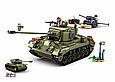 """Конструктор Sluban M38-B0860 """"Середній танк M26 Першинг 2 в 1"""" 742 дет, фото 2"""