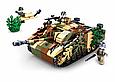 """Конструктор Sluban M38-B0858 """"Немецкий боевой танк StuG III 2 в 1"""" 524 дет, фото 2"""