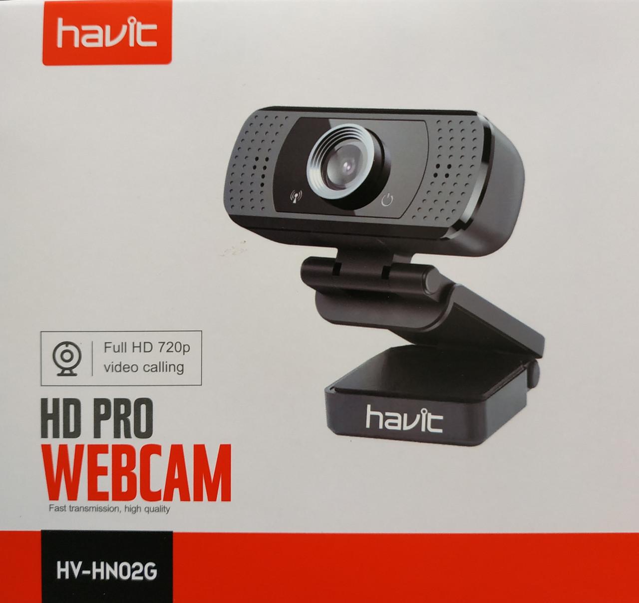 Веб камера с микрофоном Havit HV-HN02G