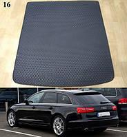 Килимок багажника Audi A6 (C7) '11-18 Avant / Allroad. Автоковрики EVA, фото 1