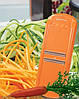 Терка для моркови по корейски Роко Тренд Borner Оригинал оранжевая
