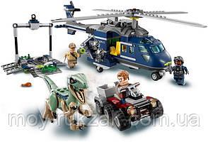 """Конструктор Bela """"Jurassic World - Погоня за Блю на вертолете"""" , 415 дет., 10925, фото 2"""