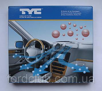 Фильтр салона Ford Fusion USA; TYC 800187C (угольный)