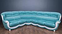 """Шестиместный угловой диван """"Джове"""" в ткани"""