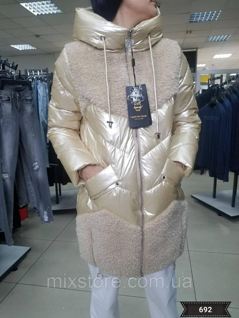 Стильная зимняя куртка SNOW OWL