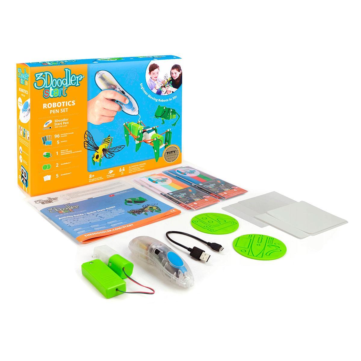 3D-ручка 3Doodler Start для детского творчества - РОБОТЕХНИКА 3DS-ROBP-COM