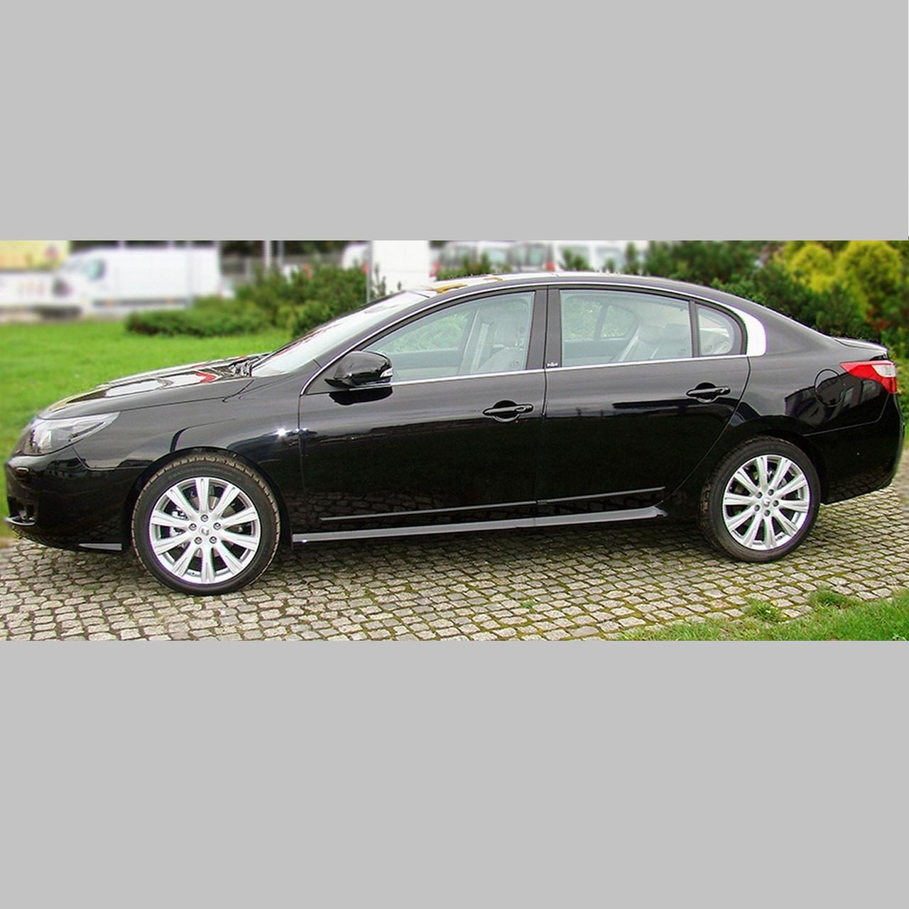 Молдинги на двері для Renault Latitude 2010-2015