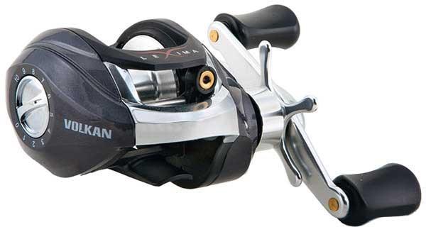 Котушка рибальська Nomura мультиплікатор Lexima Volkan 104BL 0.33 мм/110м 6.2:1