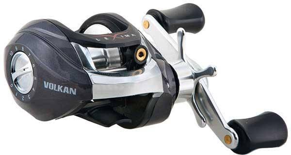 Котушка рибальська Nomura мультиплікатор Lexima Volkan 104BL 0.33 мм/110м 6.2:1, фото 2