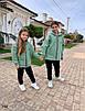 Костюм спорт стиль прогулочный на девочку теплый с начесом 134;140;146, фото 5