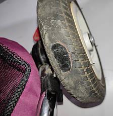 Б/У Велосипед трехколесный Best Trike фиолетовый, без родительской ручки и без защитного тента, фото 3