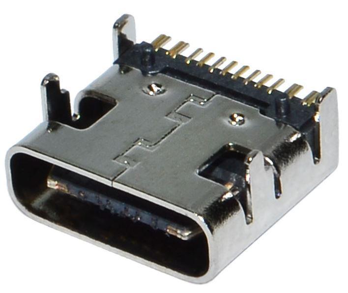 Гнездо USB TYPE-C 12pin T004