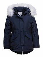 Курточка на меху для девочек Glo-Story
