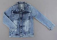 Джинсовая курточка для девочек, фото 1