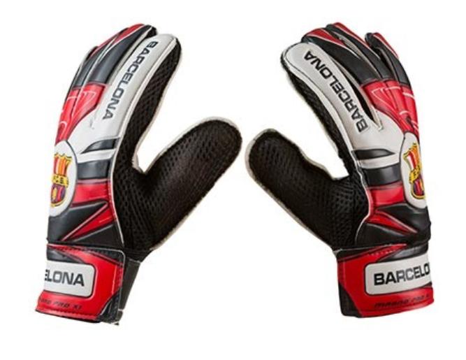 Перчатки вратарские Latex Foam FC BARCS, размер 5, красный/черный GG-LFCB