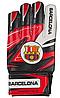 Перчатки вратарские Latex Foam FC BARCS, размер 5, красный/черный GG-LFCB, фото 3