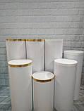 Тубус,колона для кенди бара  70-100 см.  Высота, 30 см - Диаметр, фото 3