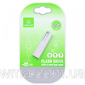 Флеш накопитель USAMS US-ZB098 32Gb Aluminum Alloy USB High Speed Flash