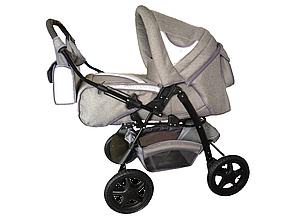 Универсальная коляска-трансформер Trans baby Яся Лён (перекидная ручка,комплект, цвета)