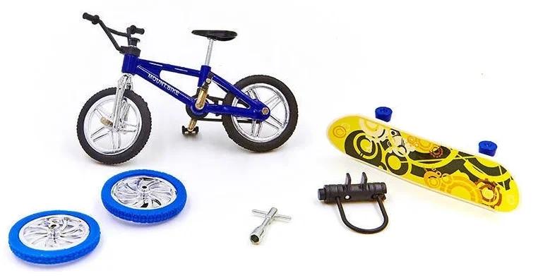 Фингербайк Пальчиковый велосипед со скейтом металл Фингерборды