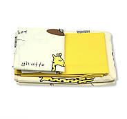 """Двуспальный комплект (Бязь)   Постельное белье от производителя """"Королева Ночи""""   Животные на желтом, фото 2"""