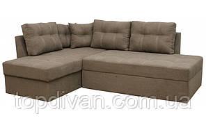 "Угловой диван ""Сандро"".  (Аляска 02) Габариты: 2,25 х 1,70  Спальное место: 2,05 х 1,45"
