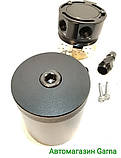 Масловіддільник для сапуна автомобільний, сепаратор універсальний зі зливом, фото 3