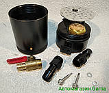 Маслоотделитель для сапуна автомобильный, сепаратор универсальный со сливом, фото 4