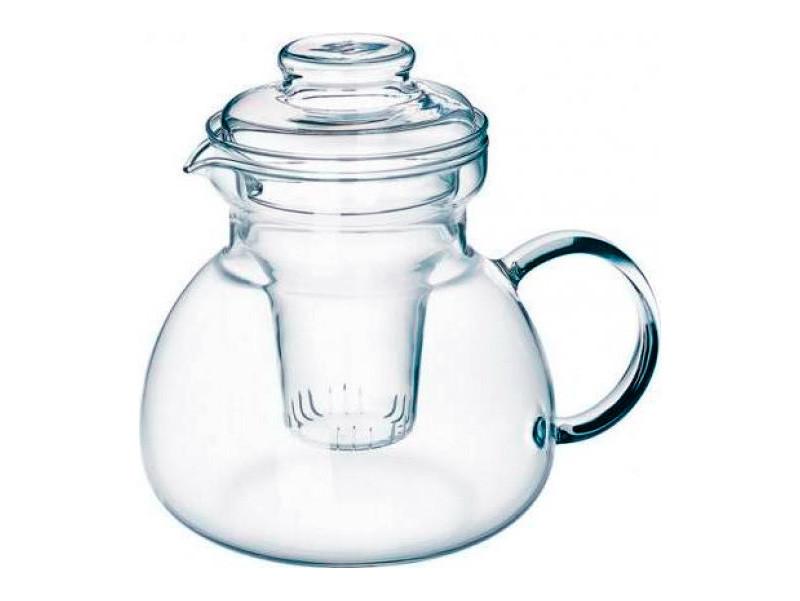 Стеклянный заварочный чайник со стеклянным ситечком Simax Marta 1,5л