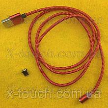 USB - Micro USB-кабель плоский 1 м, Шнур micro usb 2.0 для Asus ( кольори в асортименті )
