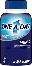 Мультивитамины для мужчин, One-A-Day, Bayer, 200 таблеток