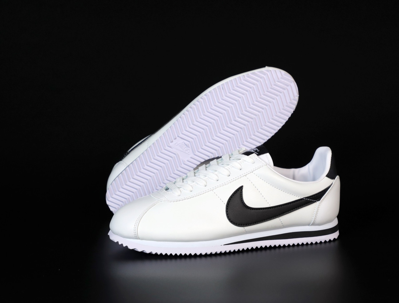 "Кроссовки мужские Nike Cortez ""White/Black"""