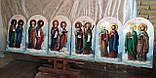 Икона храмовая писаная Святые апостолы Иоанн Богослов и Яков Алфеев, фото 2