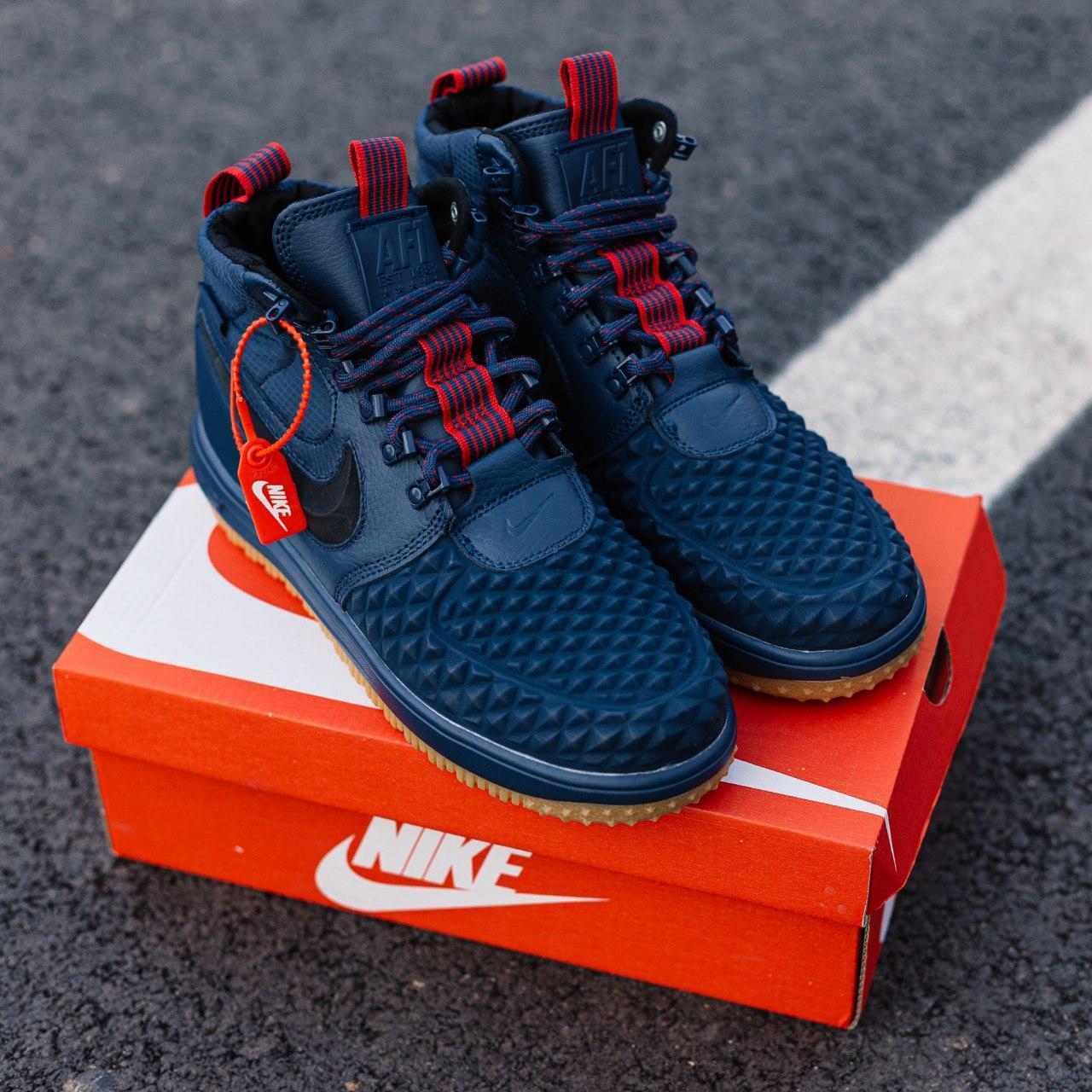 Кроссовки мужские Nike Lunar Force 17 Duckboot blue