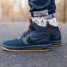 Кроссовки мужские Nike Lunar Force 17 Duckboot blue, фото 3