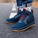Кроссовки мужские Nike Lunar Force 17 Duckboot blue, фото 4