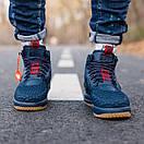 Кроссовки мужские Nike Lunar Force 17 Duckboot blue, фото 5