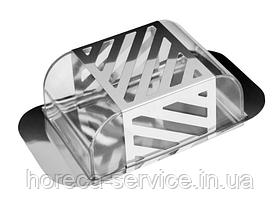 Масленка с крышкой металл + акрил (шт)