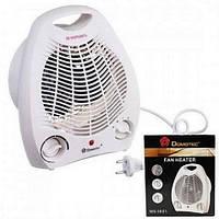 Тепловентилятор, электро обогреватель, дуйчик Domotec 2000W, 3 режима работы, плавная регулировка температуры