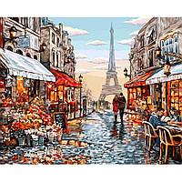 """Картина по номерам """"Париж"""", Danko Toys, 40х50, в коробке"""